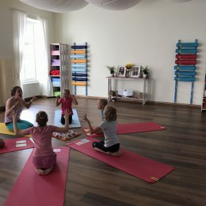 Rezervace na kurzy jógy pro děti