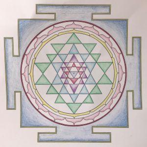 ŠRÍ JANTRA - Meditace malováním